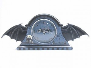 Bat Wing II Clock