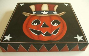 Uncle Jack O'Lantern Canvas