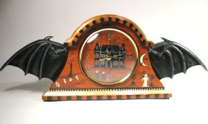 The Bat Wing Mantle Clock III