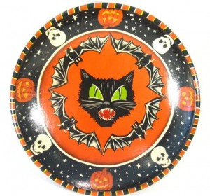 Vintage Inspired Halloween Bowl