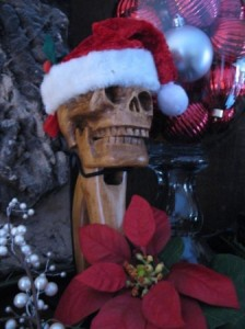 Jolly Skull Nutcracker