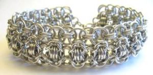 Chain maille Wide Bracelet