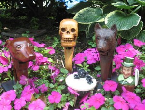 Greyhound, Skull, Bear and The Mad Hatter